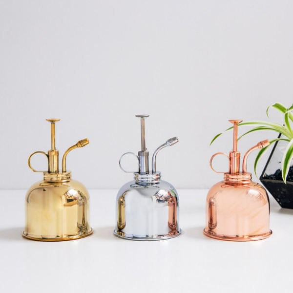 Brumisateur en laiton vintage pour plantes d'intérieur - L'échoppe Végétale
