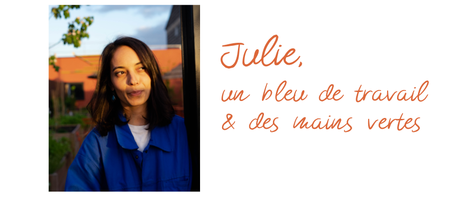 portrait, les jardins de Julie au Mob Hotel, Saint-Ouen - Échoppe Végétale