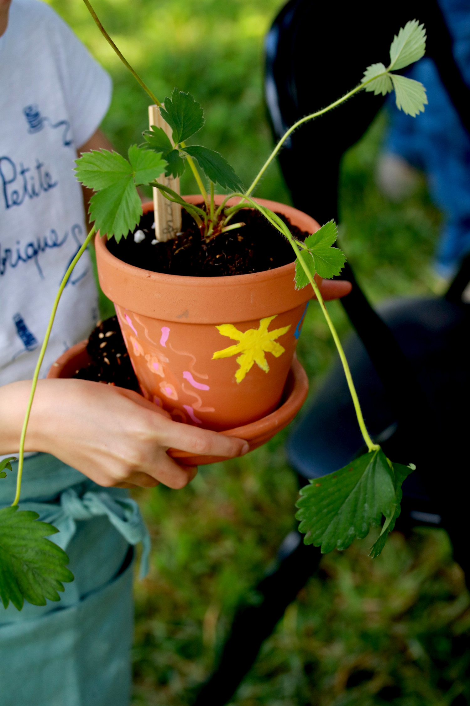 atelier jardinage family days, kids days, décoration de pots et plantation